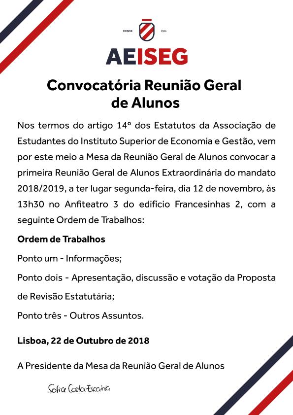 Convocatória-RGA-ESTATUTOS